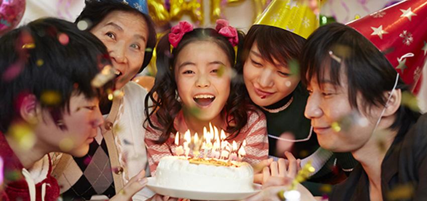 お誕生日イベント、毎日受付中です!!